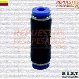 UNION PRESTOLO PLASTICO 3/8 BEST