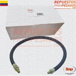 MANGUERA FRENO 3/8ID X 3/4 OD 1/4 P 36INCH SAP
