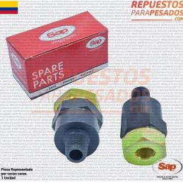 VALVULA RETENCION RECTA 3/8 X 3/8 SC3 SG SAP