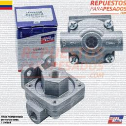 VALVULA DESCARGUE RAPIDO QR1 ENTRADA 3/8 - SALIDA 3/8 (CHILLONA) MASAN PARTS