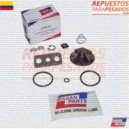 EMPAQUETADURA REPARACION REGULADOR TIPO BOTELLA D2 KN-18530 SIN VASTAGO MASAN PARTS