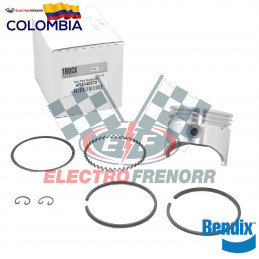 PISTON Y ANILLOS COMPRESOR CUMMINS 350 EN 20 BENDIX
