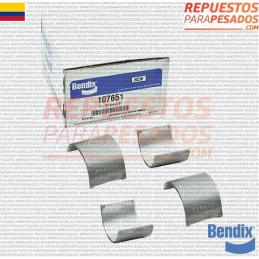 CASQUETES TU FLO 550 STD BENDIX
