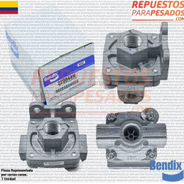 VALVULA DESCARGUE RAPIDO QR-1 BENDIX