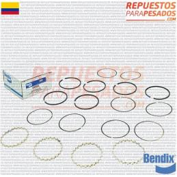 ANILLOS COMPRESOR TUFLO 550/750 0.10 BENDIX