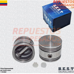 PISTON COMPRESOR SIN ANILLOS TUFLO 550 EN STD BEST