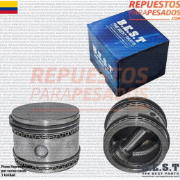 PISTON Y ANILLOS TUFLO 550 EN STD BEST